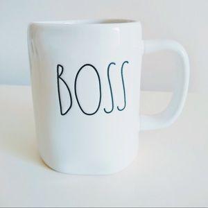 Rae Dunn By Magenta 'Boss' Ceramic Mug NWOT
